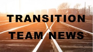 March 24 - Transition Team Update